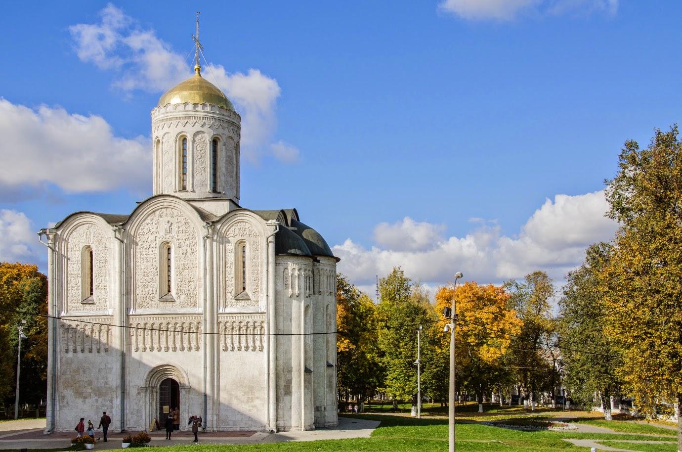 Дмитриевский собор. Владимир. Фото
