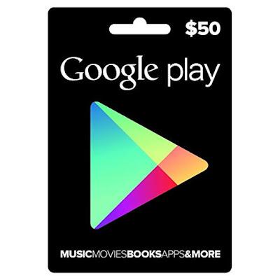Cara Hack Gift Card 50$ Di Google Play Stor Temukan Caranya Di Sini !