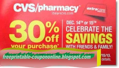 Cvs pharmacy printable coupons 2018