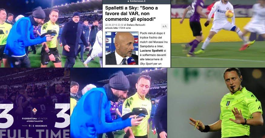 Fiorentina-Inter finisce 3-3, rocambolesco pari al Franchi, decide il VAR al 101esimo.