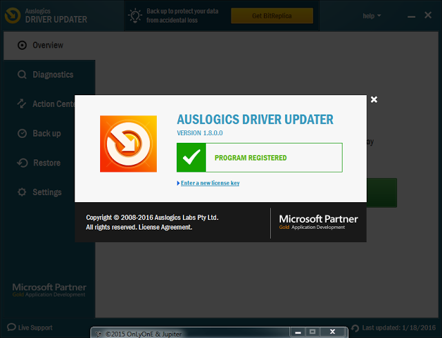 Auslogics Driver Updater 1.9.3.0 Serial Key