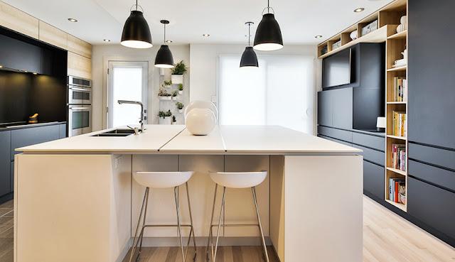 Cozinha preta - blog Achados de Decoração