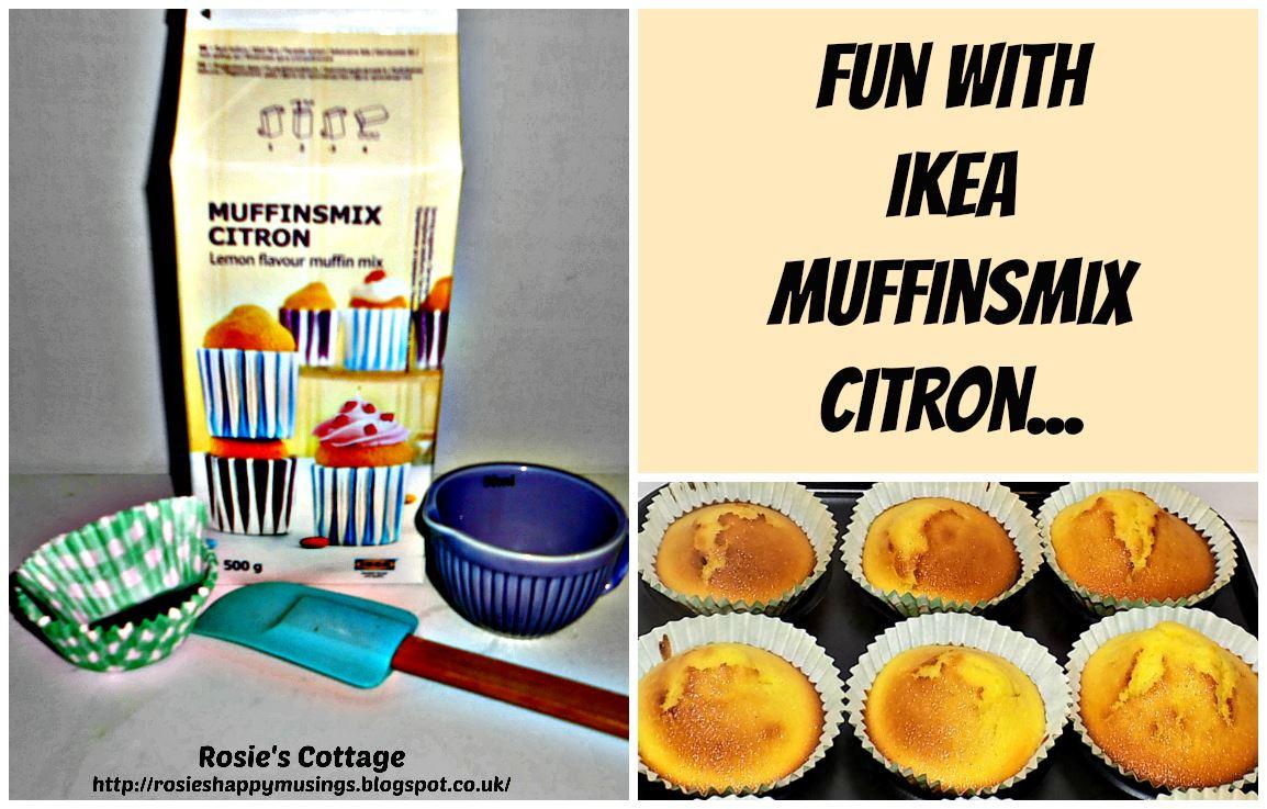 Ikea Muffins rosie s cottage ikea muffinsmix citron lemon flavoured muffin mix
