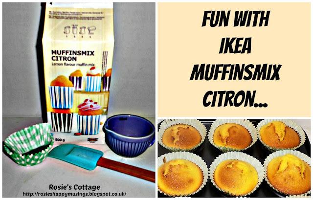 Ikea Muffinsmix Citron