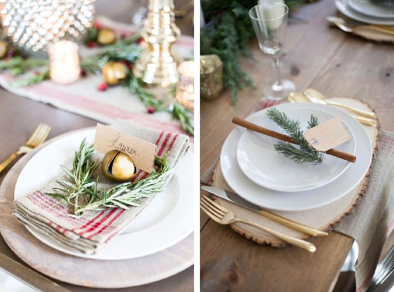 idee last minute per decorare la tavola di Natale
