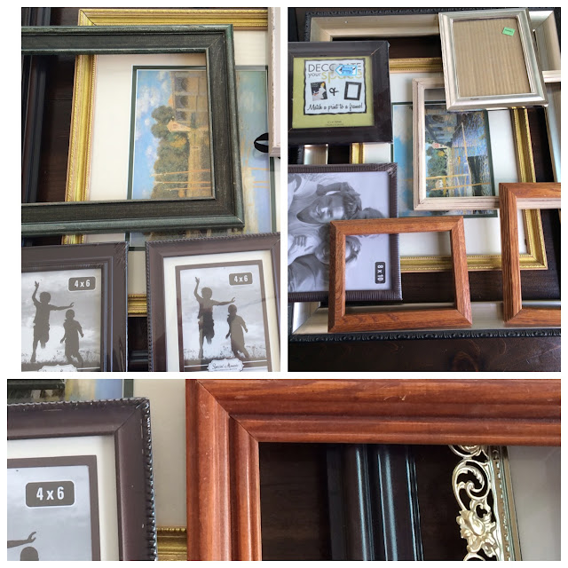 up cycled picture frames, how to paint picture frames, how to make a cohesive gallery wall, how to make a gallery wall, how to find cheap frames, how to find inexpensive frames