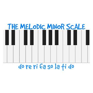 Melodic minor scale