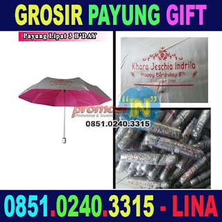 Pusat Grosir Payung Gift Souvenir Ulang Tahun