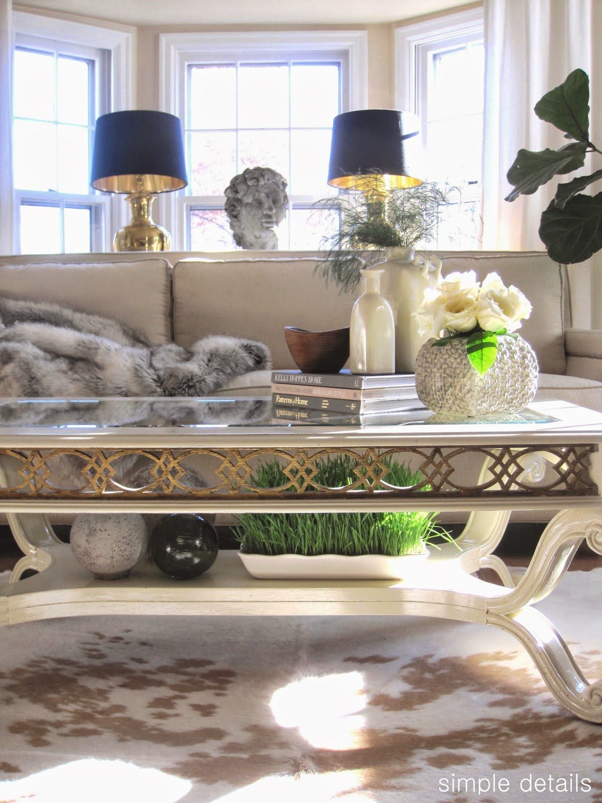 Simple Details Coffee Table Reveal And Styling Tips