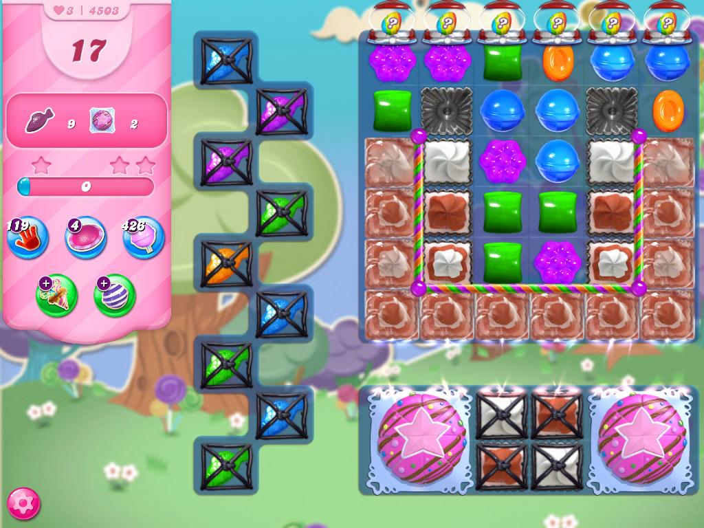 Candy Crush Saga level 4503