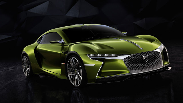 DS E-TENSE: a unique, electrifying, high-performance vehicle for the future