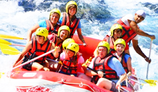 manfaat rafting picture