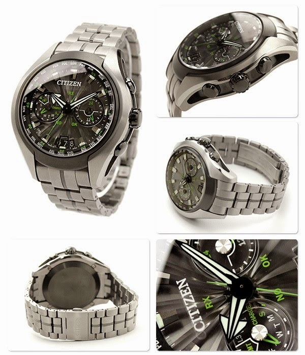 CITIZEN ECO-DRIVE SATELLITE WAVE -AIR CC1054-56E
