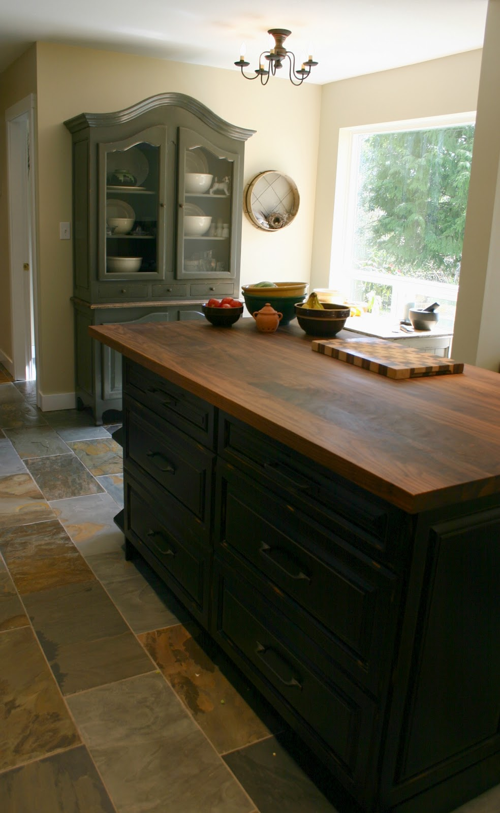 Butcher Block Top Kitchen Cabinets : Mouse Droppings: Kitchen Renos Before & After