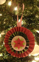 Decorative paper ornaments