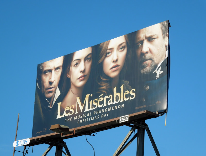 Les Miserables billboard