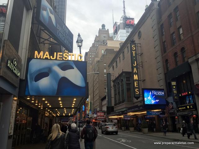 broadway y los teatros