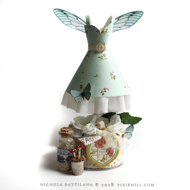 Paper Fairy Frock with Tutorial - Nichola Battilana
