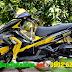 Sơn tem đấu xe Airblade 125 màu vàng đen cực ngầu