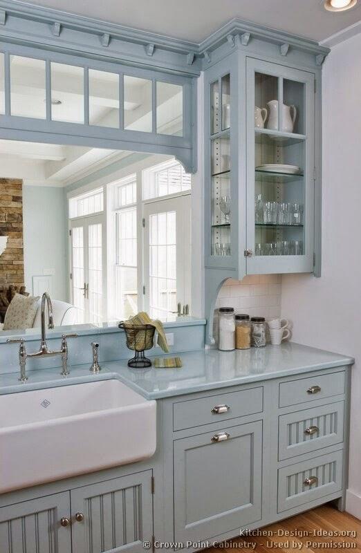 Moois en liefs woon inspiratie in blauw - Heel mooi ingerichte keuken ...