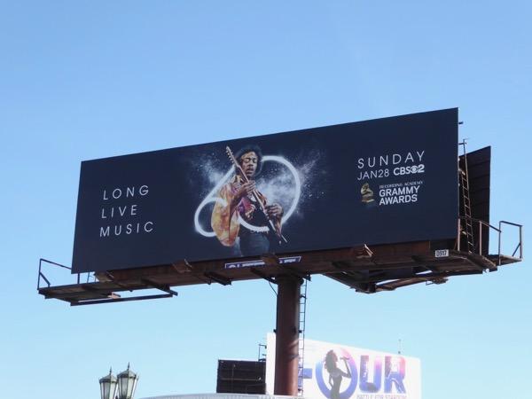 Jimi Hendrix 60 Grammys billboard