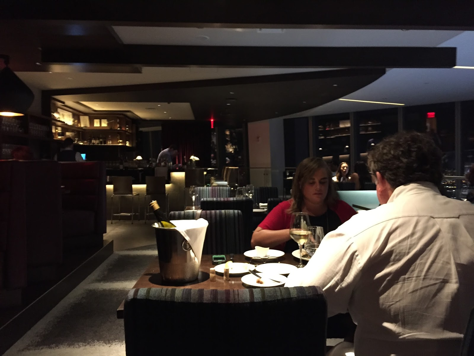 """Dinner at """"One Dine"""" -- The Restaurant at the Top of the ..."""
