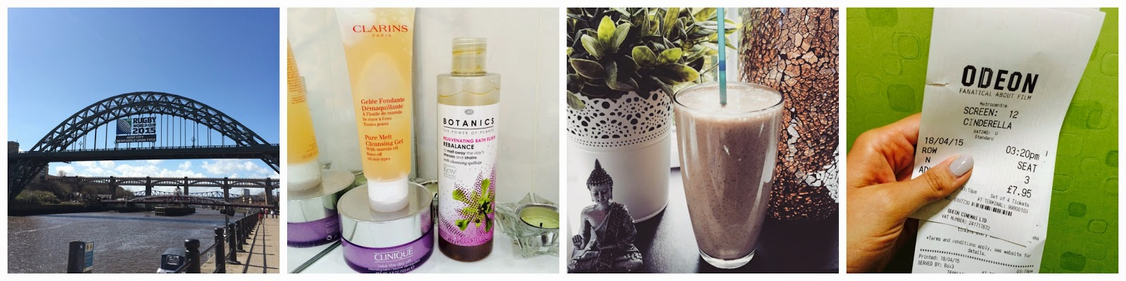 Instagram Newcastle Lifestyle skincare smoothie Cinderella