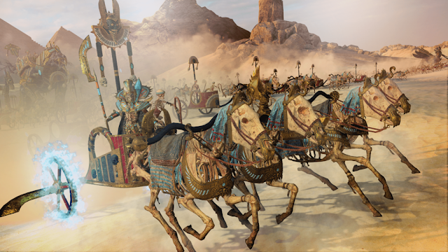 Total War Warhammer II anuncia Rise of the Tomb Kings