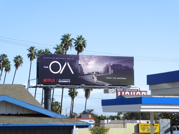 The OA Netflix series billboard