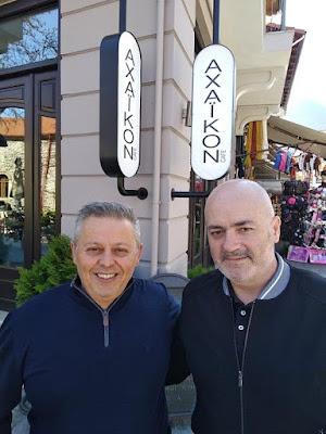 Ο Κώστας Παπασπυρόπουλος υποψήφιος με τον Σπύρο Θεοχάρη