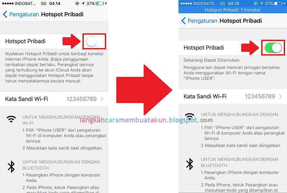 Cara Menghidupkan Hotspot di Iphone (semua tipe) | Langkah