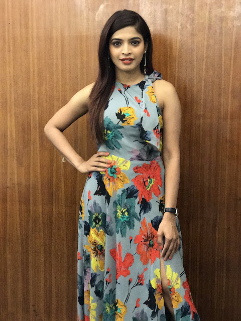 Sanchita Shetty at Rum Tamil movie Press Meet