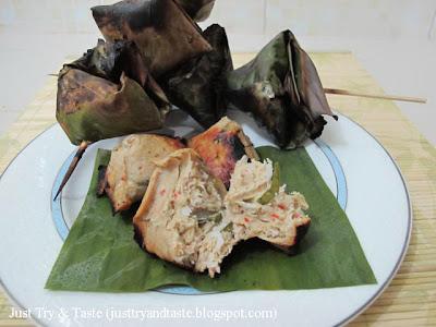 Resep Sate Ikan Bungkus Daun Pisang JTT
