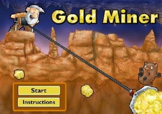 لعبة جمع الذهب