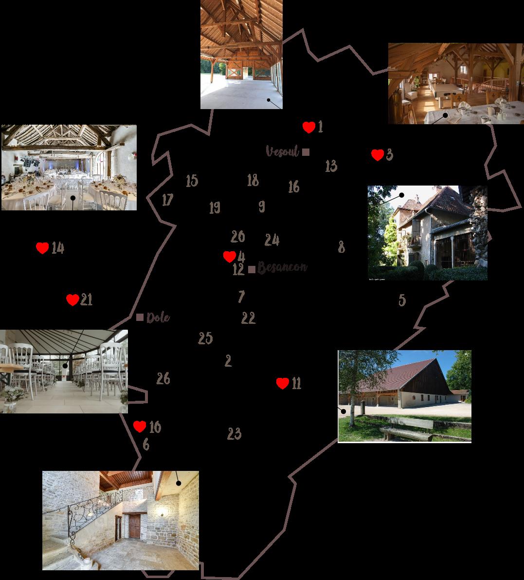 pauline-dress-blog-mariage-lieux-domaine-chateau-grange-verriere-champetre-poutres-apparentes-salle-préau-franche-comte-besancon-doubs-jura-haute-saone-carte