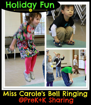 photo of: Bell Ringing Sing-a-Long at PreK+K Sharing