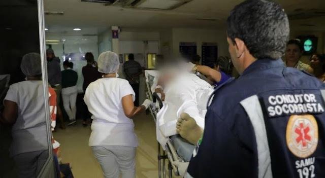 Jovem é baleado dentro de posto de saúde em Timbaúba