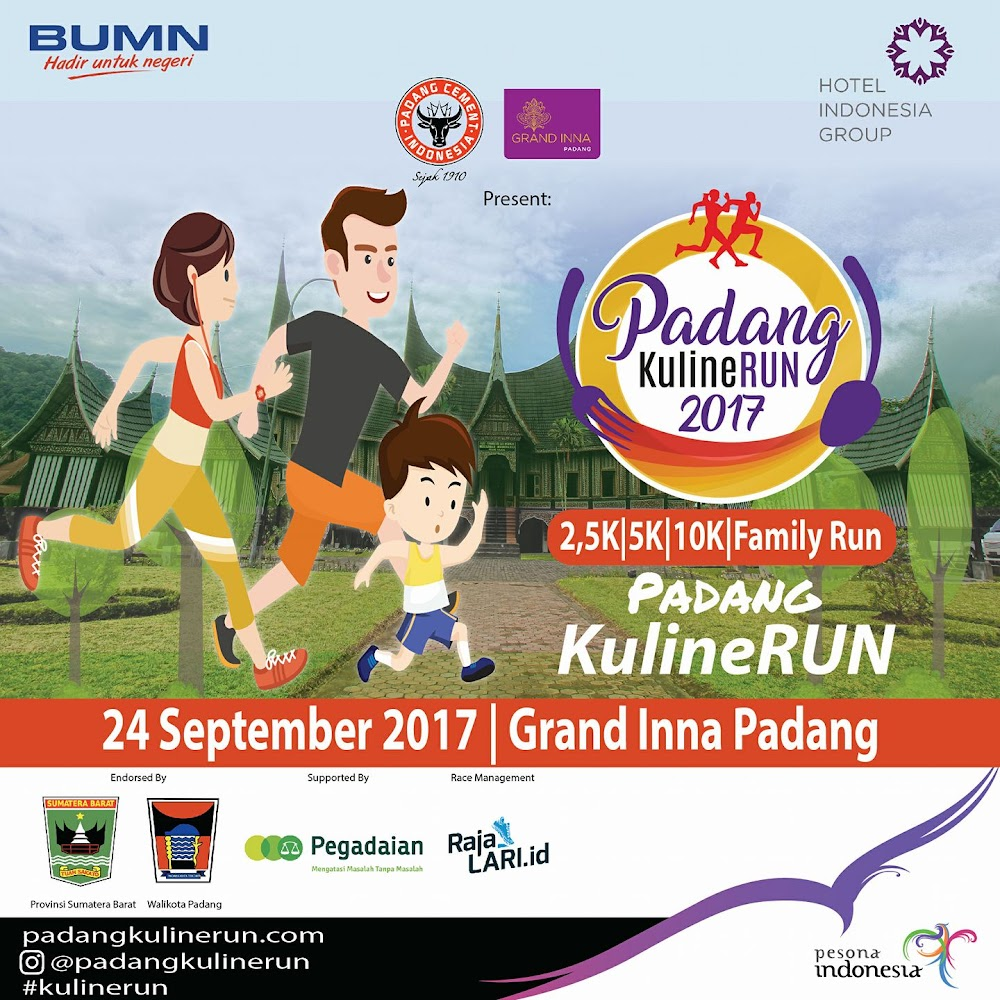 Padang kulineRun • 2017