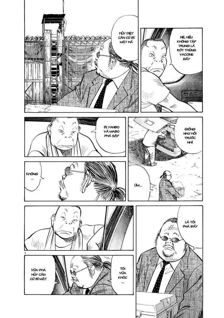 20th Century Boys chapter 234 trang 9