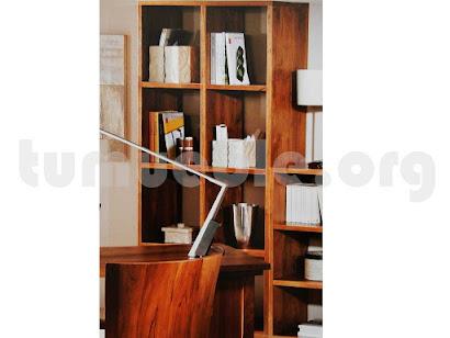 mueble estanteria en teca 4023