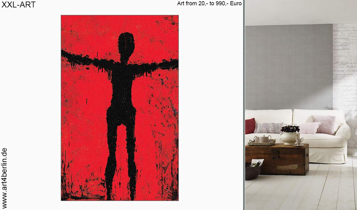 ART-SALE, moderne Kunst, abstrakte Ölgemälde, große Acrylbilder ...