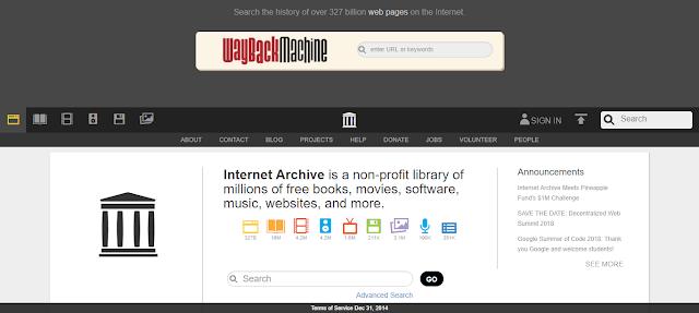 Archive.org Aashcharyajanak Upayogee Website
