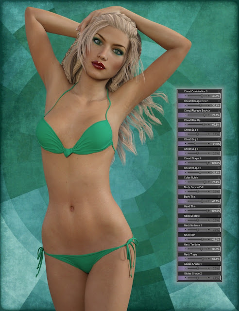 Genesis 3 Female Body Morph Resource Kit