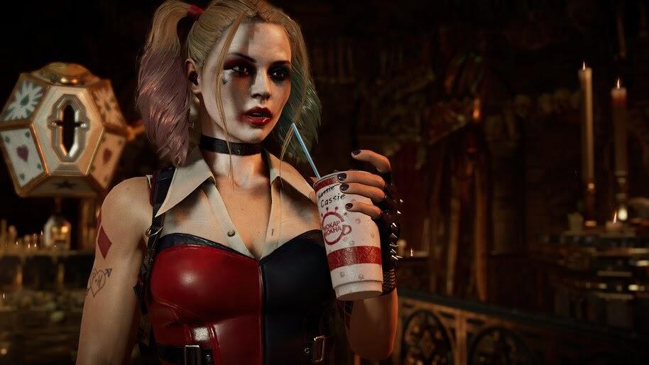 Harley Quinn, Cassie Cage, MK11, 4K, #7.1432