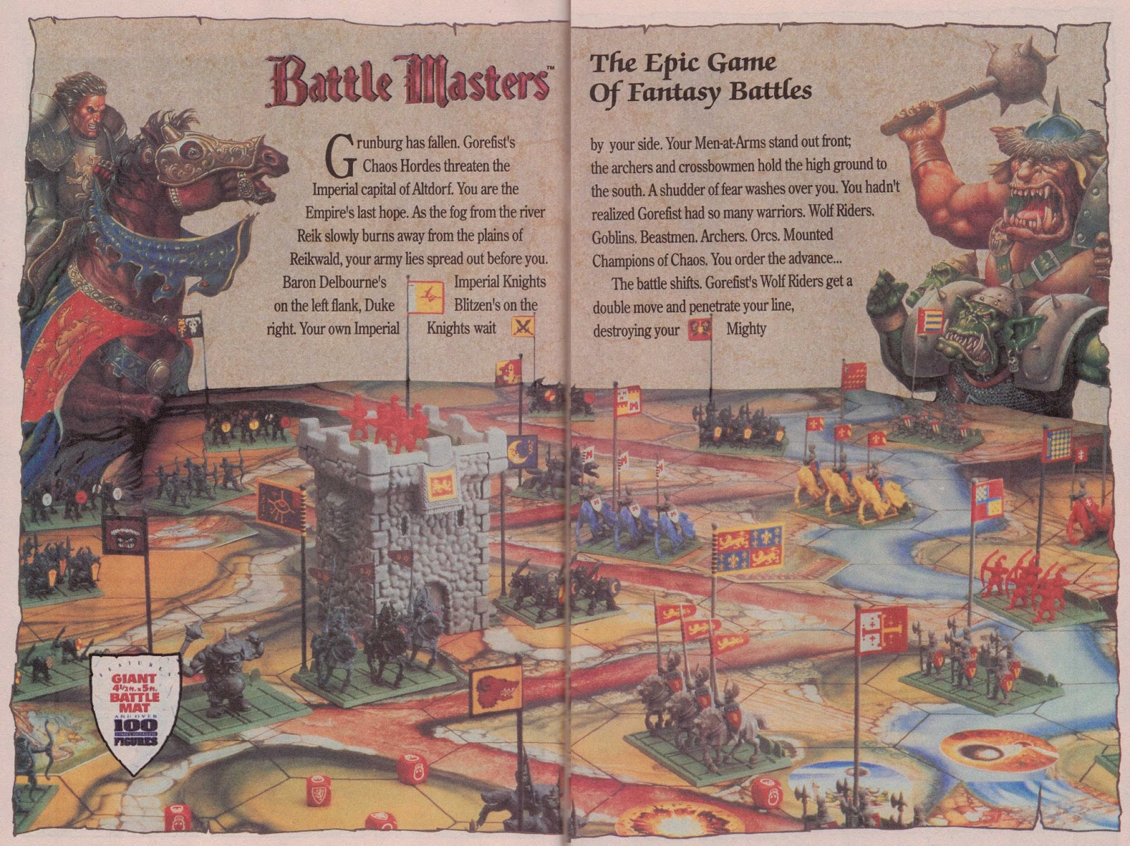 Battle Masters - The Epic Game of Fantasy Battles