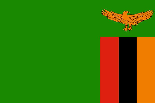 Bandera de Zambia