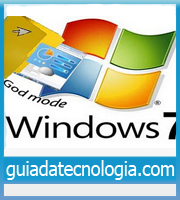 Capa God Mode no Windows 7