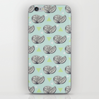 Art Life's lemons Illustration phone case