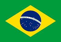 Logo Gambar Bendera Negara Brasil PNG JPG ukuran 200 px