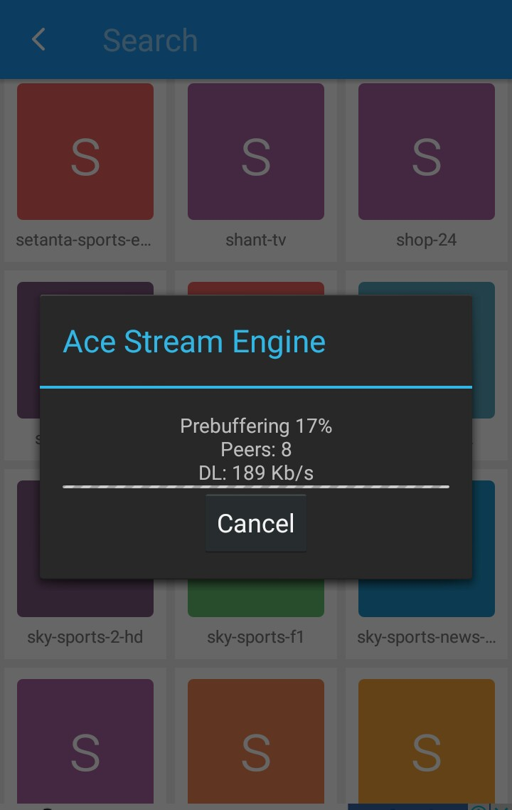 Ace Stream Channels links 04 12 2016 for more than 1000 All